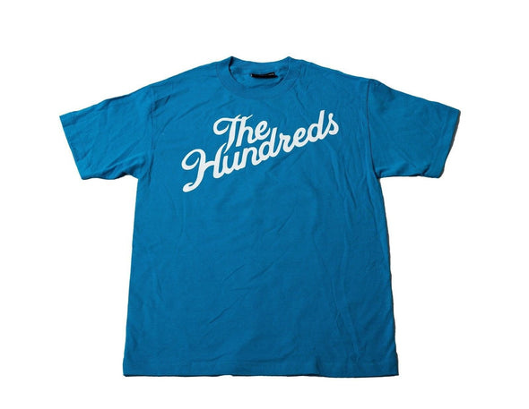 Original Classic The Hundreds Forever Bar Logo Mens Cotton Stretch T-Shirt