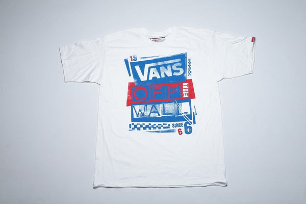Vans Men's Classic Skateboard t-Shirt Tee short sleeve Authentic STYLE-39- SZ-L