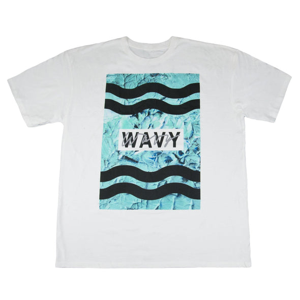 Wavy Clothing Mens Authentic Quality Fashion Cotton Tee Shirts SZ(2XL)STYLE 4