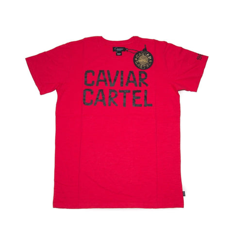 Caviar Cartel Star Logo Tee Lightening Urban Fashion T-Shirt SIZE M
