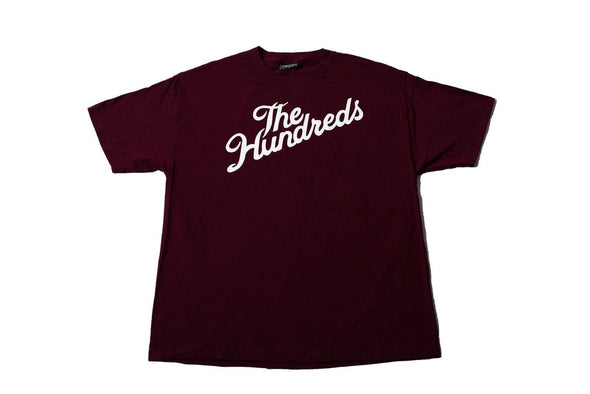 Original Classic The Hundreds Forever Bar Logo Mens Cotton Stretch T-Shirt size XL