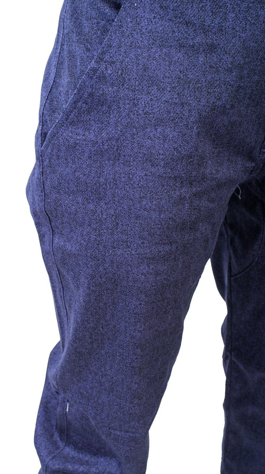 Mens Twill Fashion Joggerpants Solid fit urban basic Joggers Relax fits BLUE/NAV