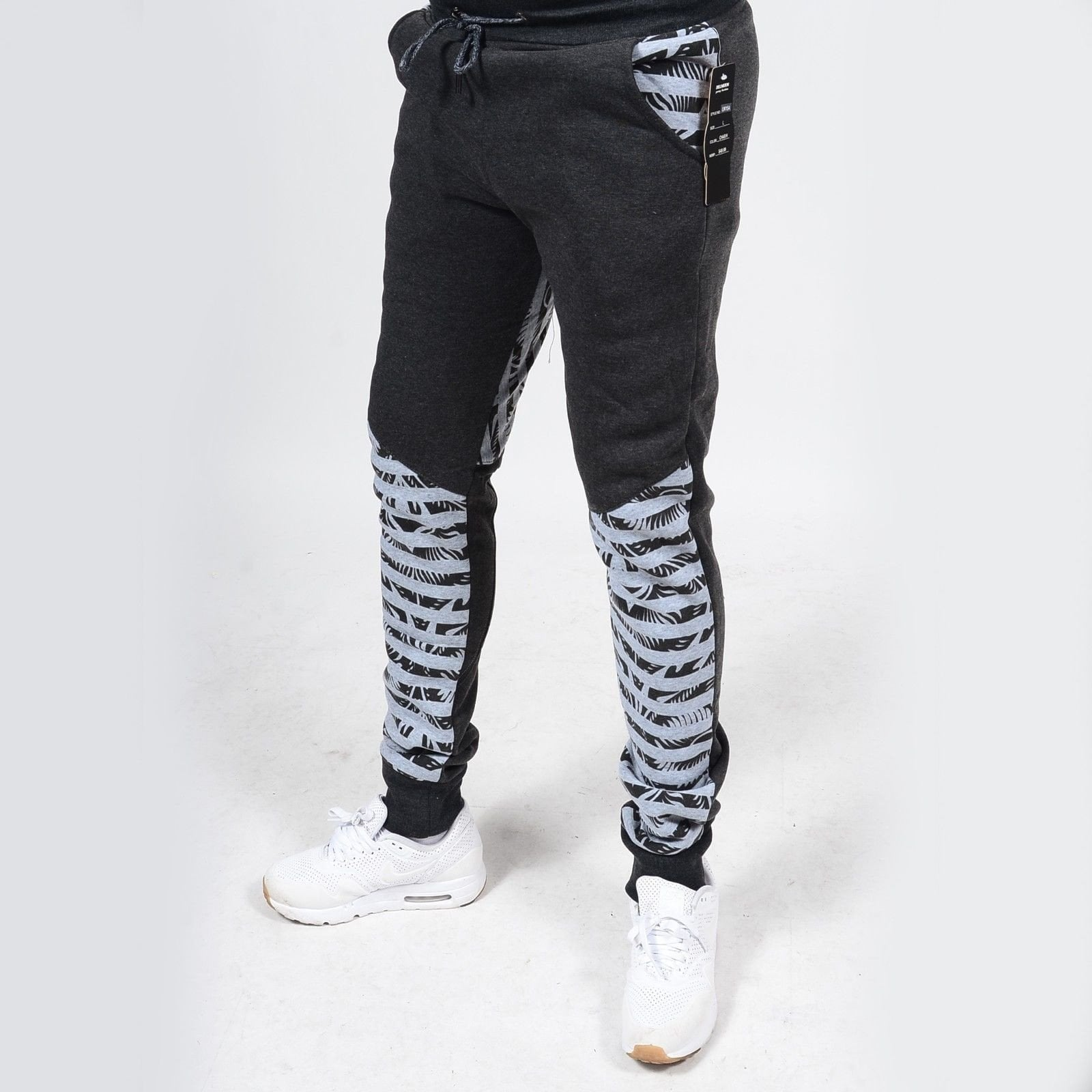 Rs7 #15 Zebra Print Fleece Jogger