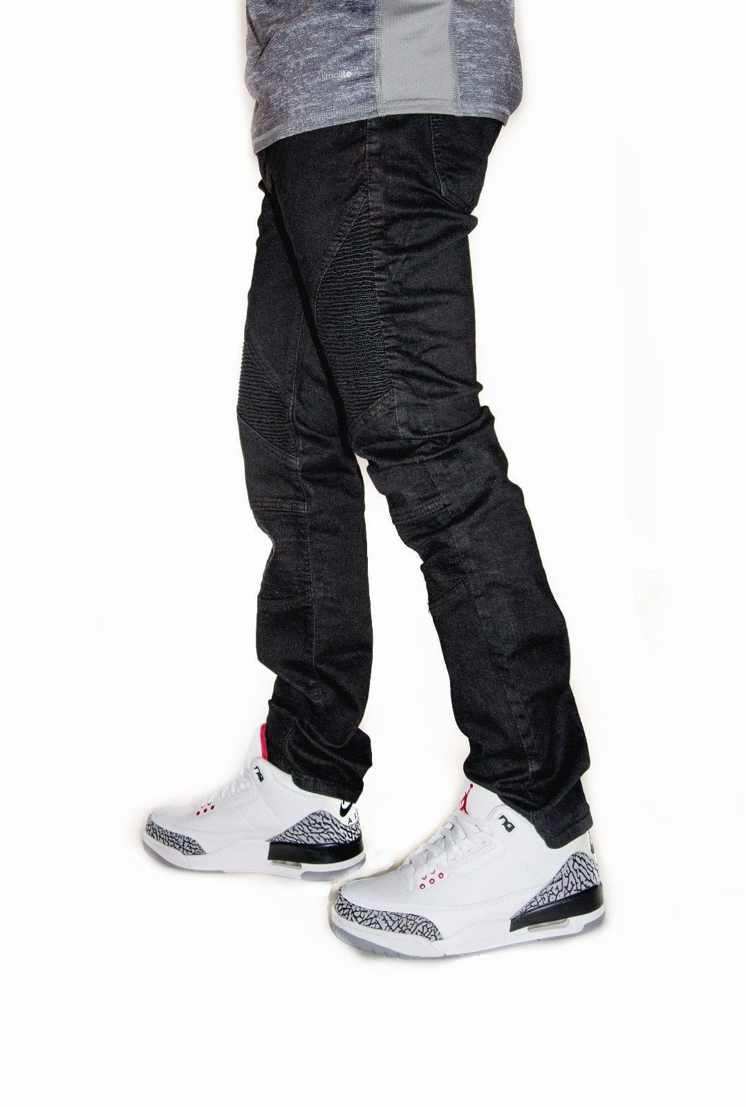 Waimea Summer Collection Biker Denim - (Black)