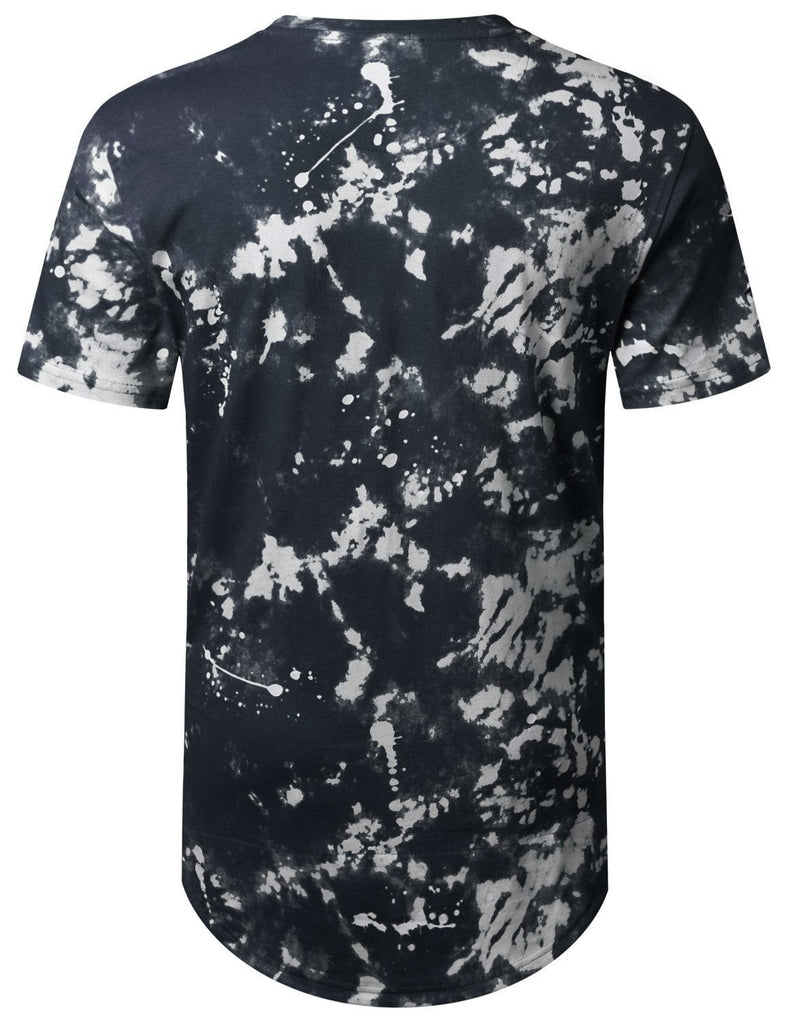 Mens RAZER CUT Vintage washed Long tee