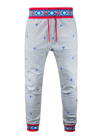 Native Jacquard Drawstring Joggers