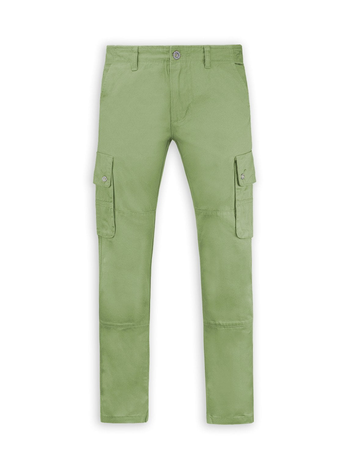 Casual Straight Fit Cotton Cargo Pants