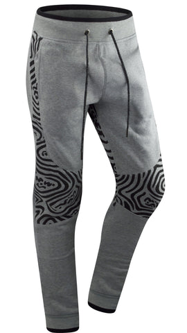 L.TGRAY KNEE WAVE PRINT STYLE 14