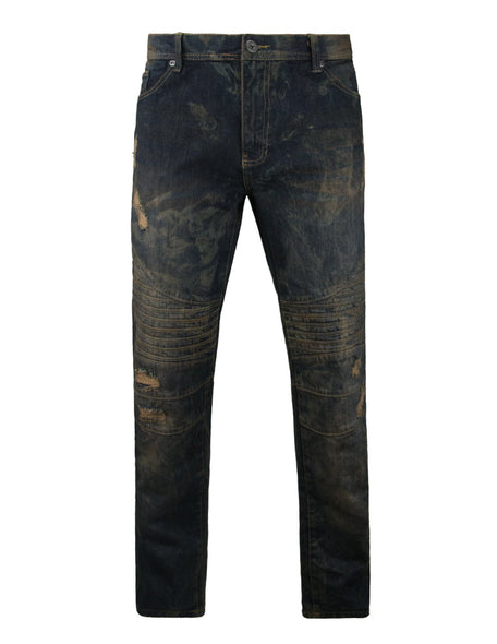 SP Mens Torn Rips Solid Color Pants (F/W 2016