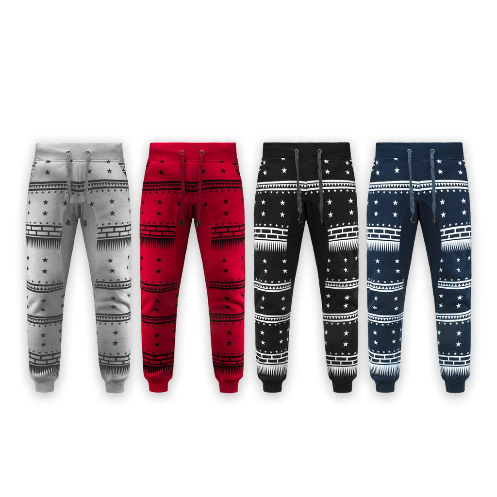 fleece Shooting Stars  Drawstring Jogger
