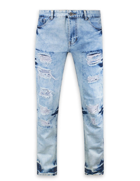 Distressed Biker ripped slim fit Jeans