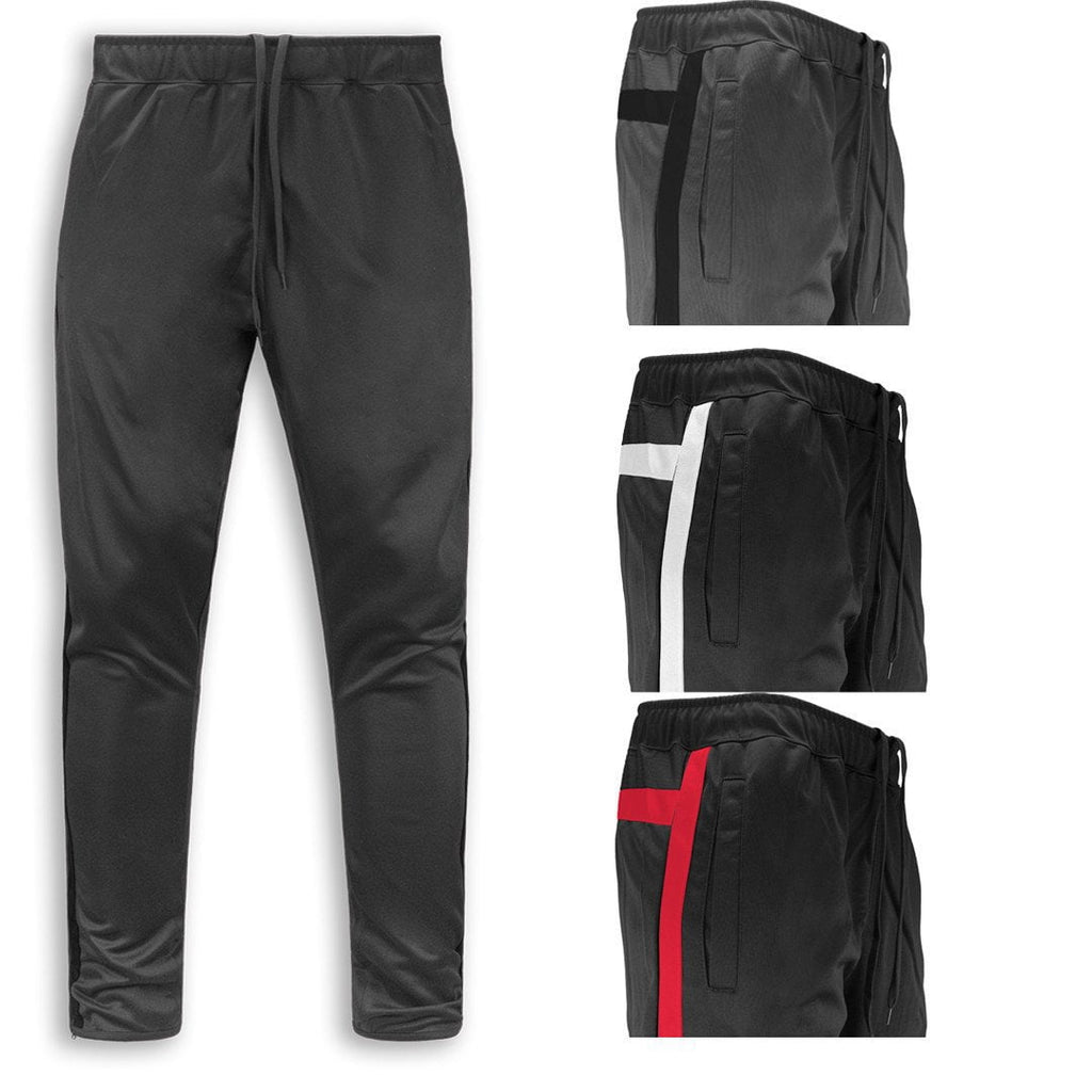 Men's Skinny Soccer Pants Training Sweat Sport Gym Athletic