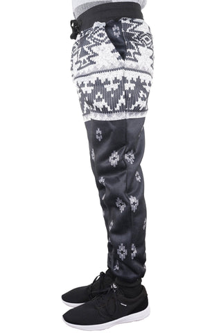 aztic Graphic Hip Hop Graphic Print jogger french terry