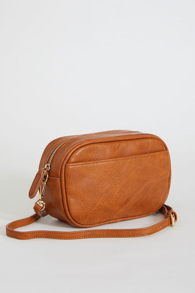 Vegan Leather Camera Bag (Available in Camel & Black)
