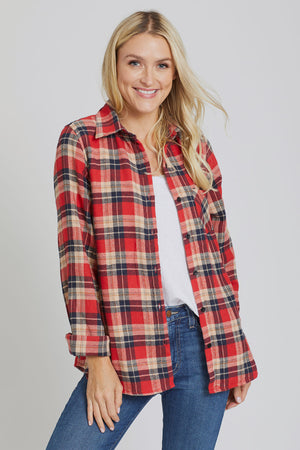 American Fit Plaid Shirt
