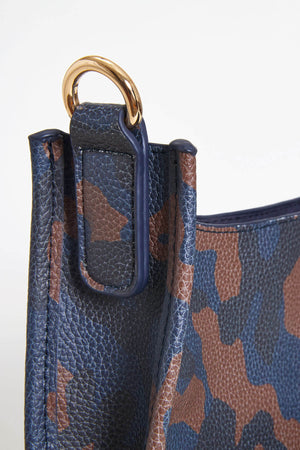 Load image into Gallery viewer, Camo Vegan Messenger Bag- STRAP NOT INCLUDED