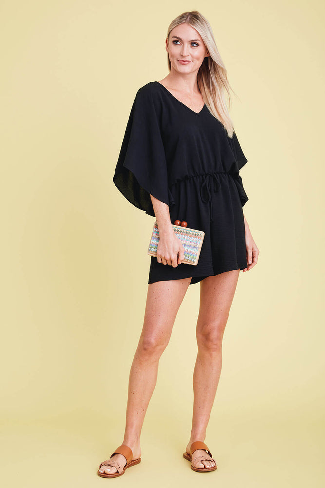 Load image into Gallery viewer, GeeGee Ray Sleeve Romper