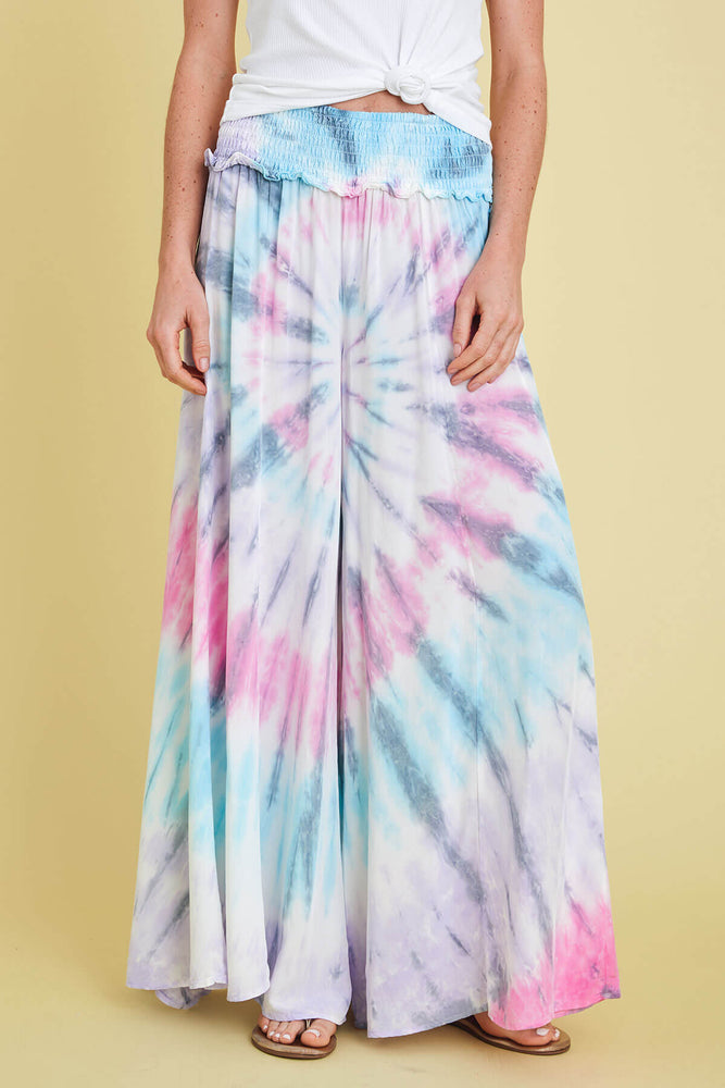Load image into Gallery viewer, Surf Gypsy Bright Swirl Beach Pant