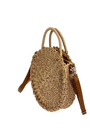 Load image into Gallery viewer, AGP Apparel Straw Bag