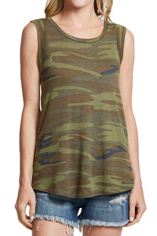 Alternative Apparel Eco Capsleve Camo Crew Tee