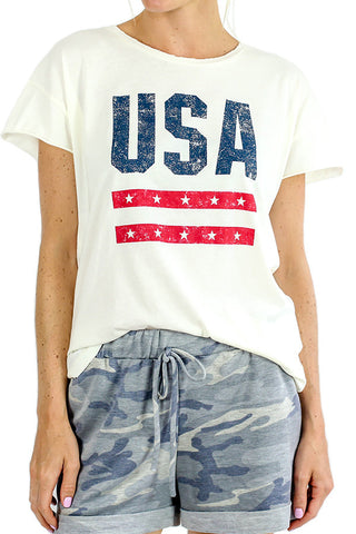 Alternative Apparel USA Short Sleeve Tee