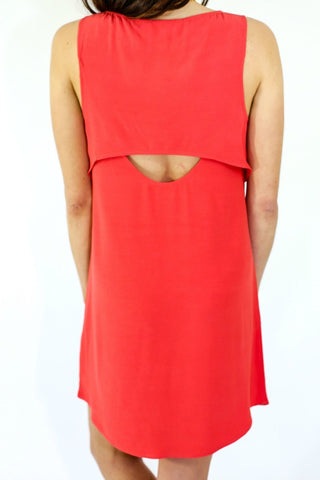 BB Dakota Open Back Shift Dress
