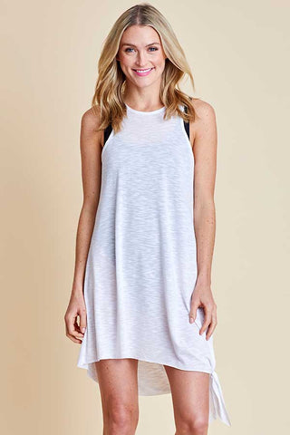 Becca Side Tie Breezy Basics Coverup