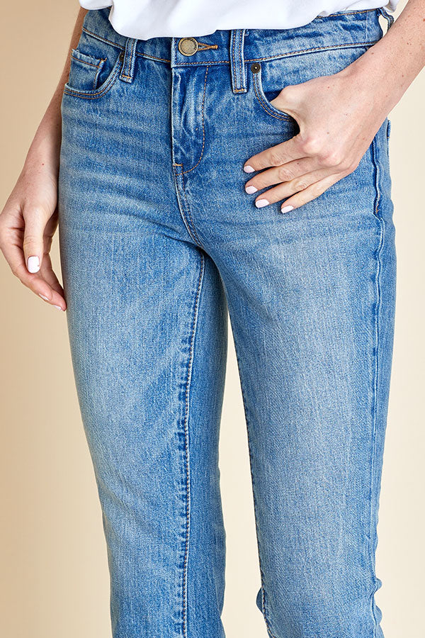 Blank NYC Crop Kick Flare The Plastics Jean