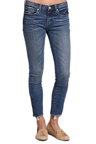 Blank NYC Interoffice Ankle Zipper Jeans