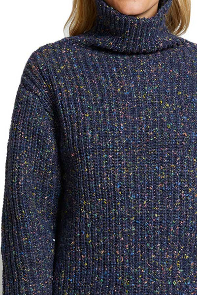 Blank NYC Multi Color Speckled Oversized Sweater
