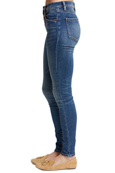 Blank Vendetta Button Front High Waisted Jeans