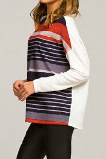 Cherish Striped Long Sleeve Top