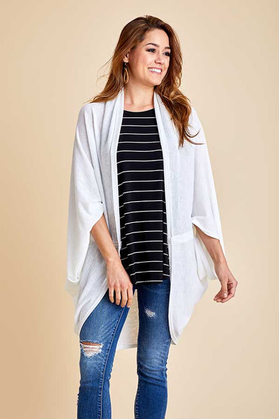 Do Everything In Love Cocoon Sheer Cardigan