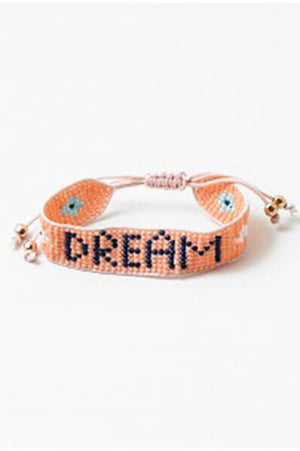 Load image into Gallery viewer, Blue Sky Dream Beaded Friendship Bracelet