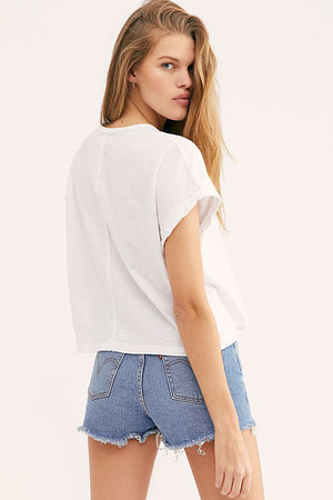 Free People You Rock Tee (available in Navy and White)