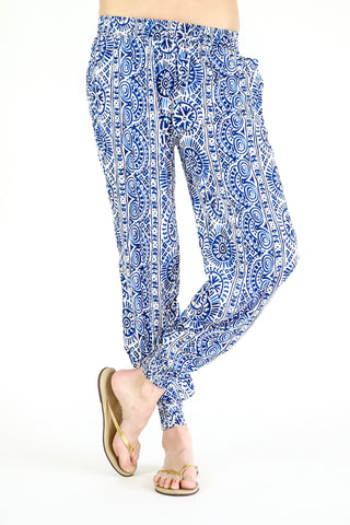 Fashion Fuse Printed Jogger Beach Pants