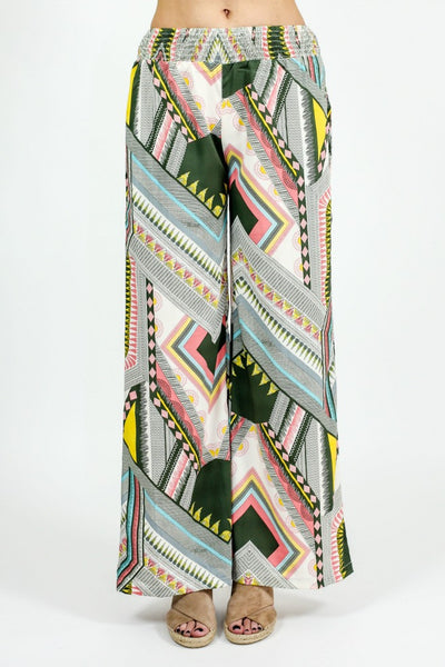 Fashion Fuse Printed Wide Leg Pants