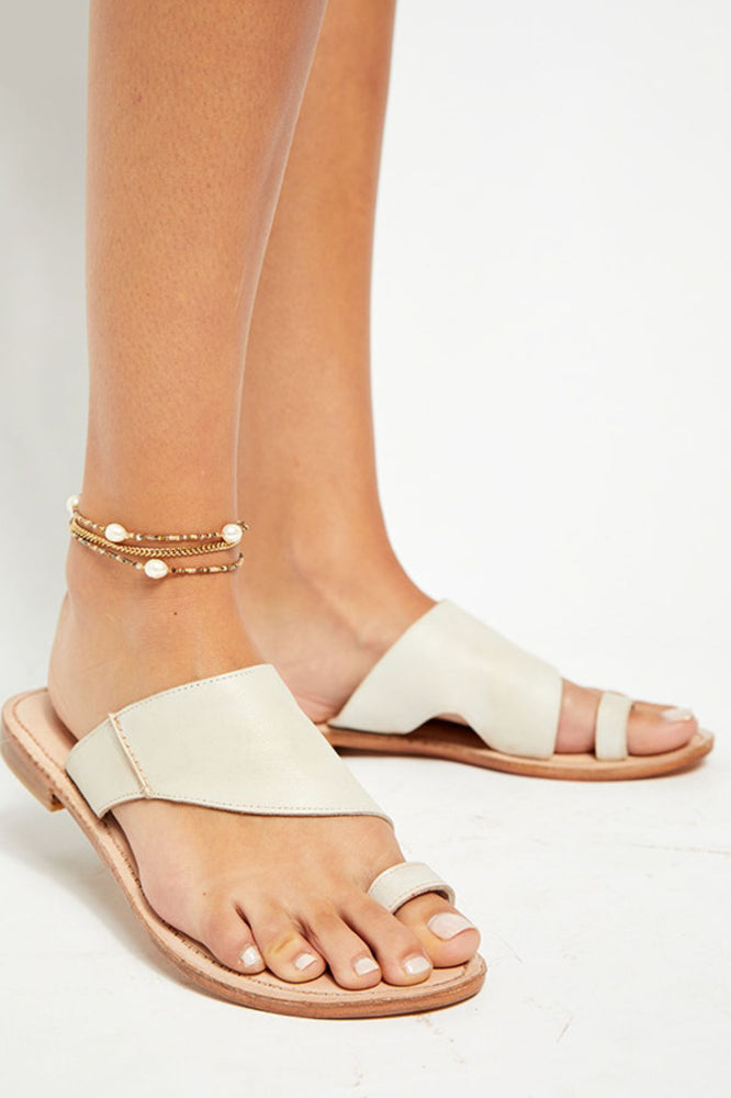 Free People Sant Antoni Toe Slide Sandal