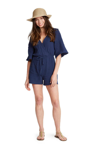 Glam Cotton Gauze Romper