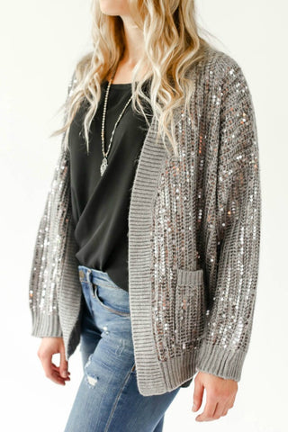 Endless Rose Sequin Cardigan