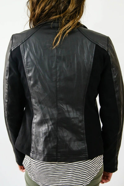 RD Style Faux Leather Jacket
