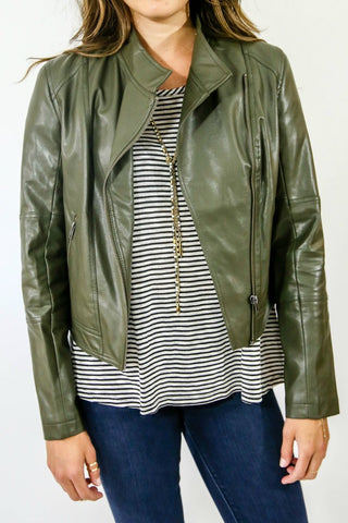 Jack by BB Dakota Faux Leather Jacket