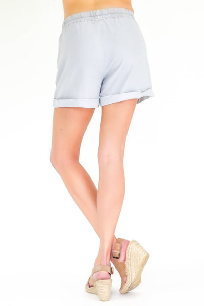 RD Style Chambray Shorts