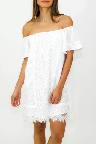 Sugar Lips Off-The-Shoulder Dress