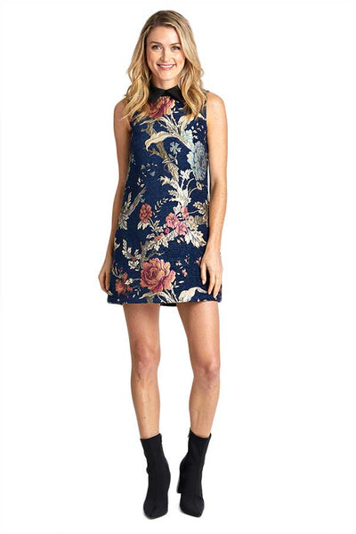 Jack By BB Dakota Brocade Shift Dress