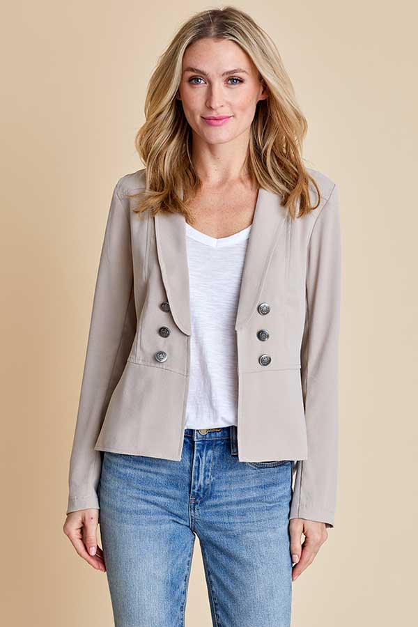 Jack Take the Reins Crepe Blazer
