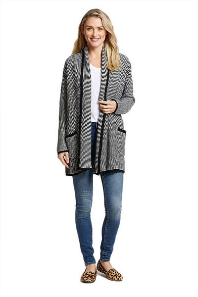Jack by BB Dakota All Over It Stripe Cardigan
