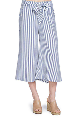 Jack by BB Dakota Striped Cropped Pants