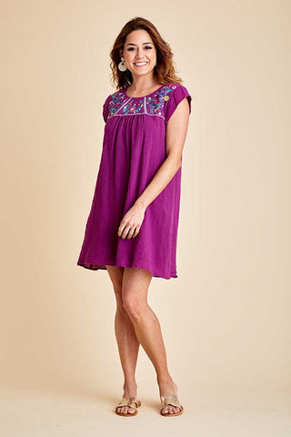 Jodifl Embroidered Dress