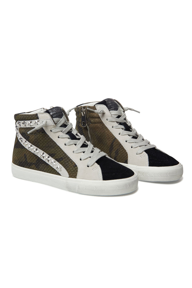 Load image into Gallery viewer, Vintage Havana Kayla Hightop Camo Sneakers
